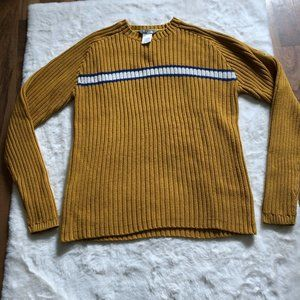 The north face a5 series knit sweater size M